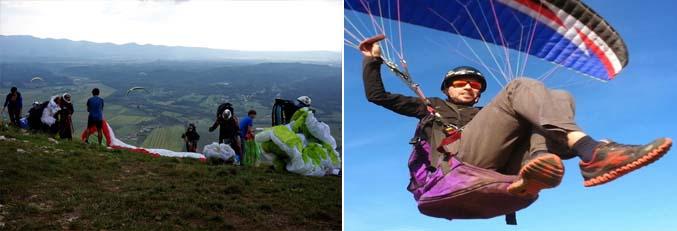 síklóernyő repülés, szórakozás