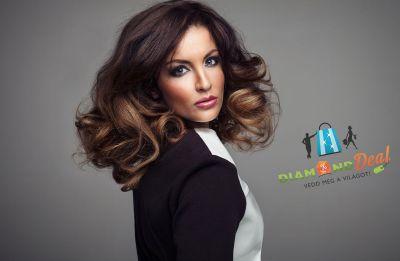 Ombre, melír vagy egyszínű hajfestés, hajvágás, ultrahangos és infra hajgyógyítás minden hajhosszra!