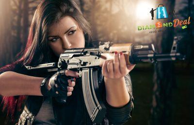 80 lövés 5 nagy kaliberű fegyverrel a Duna Lövész SE élménylövészetén!