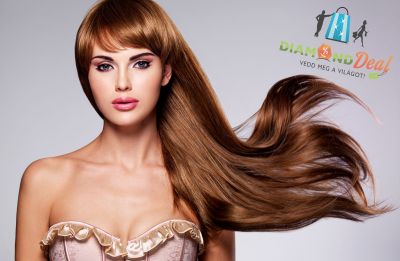 Lisse Design keratinos hajkezelés hajvágással! Legyen hajad simább, egyenesebb, fényesebb!