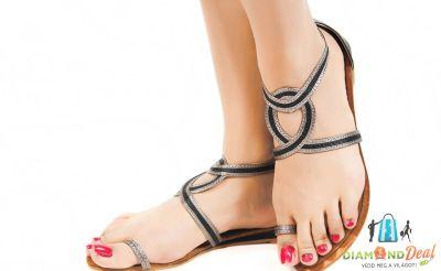 Pedikűr gél lakkal ajándék talpmasszázzsal a szép és egészséges lábakért az In Style Szalonban!