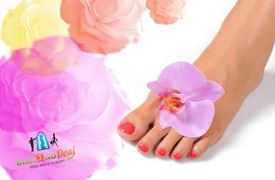 Pedikűr, profi ápolás, géllakkozás a szép lábakért és talpmasszázs a kényeztetésért!