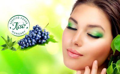 3 alkalmas LUXUS arcfiatalító bérlet szőlő őssejtel, ILCSIvel, Aloéval, arcvasalással, ajándékokkal!