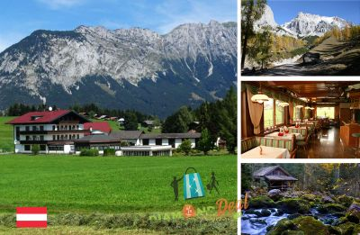 Pihenjetek az osztrák hegyek között: 4 nap/3 éj 2 fő részére reggelivel Hotel Berghof Mitterberg***