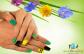 Gél-lakkozás kézre 2 ujj díszítésével, mini manikűrrel, kézápolással! Tündökölj ragyogó körmökkel!