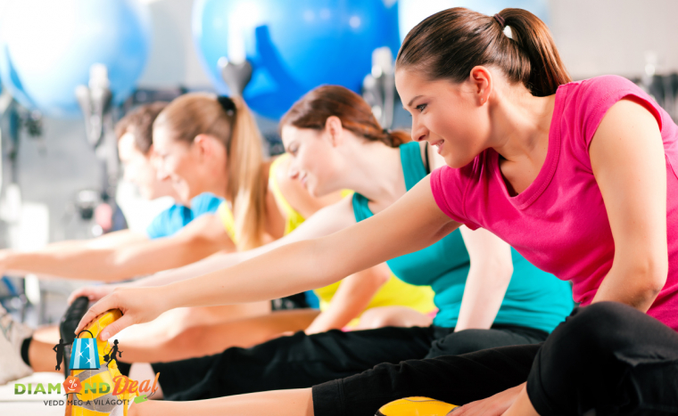 8 alkalmas bérlet órarend szerinti csoportos edzésekre. Fejleszd erőnléted motiváló edzéseken!