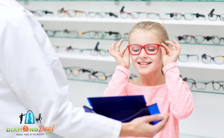 Komplett gyerekszemüveg készítése 6 éves korig az Optigold Optikában. Tökéletes látás a gyerkőcnek!
