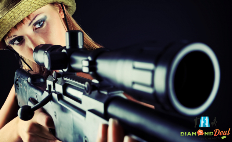 60 lövés gépkarabélyokkal és mesterlövész puskával Ráckevén. Ajándékozható élménylövészet.