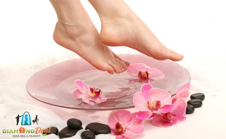 Kényeztesd a lábaid! Gyógypedikűr ajándék pakolással az Angella Szalonban, a XIII. kerületben!
