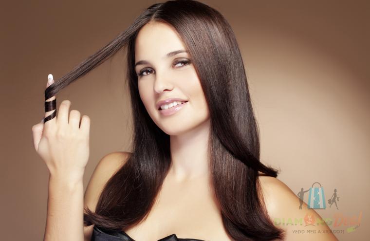 Keratin Perfect intenzív hajszerkezet javítás igénybe vett hajra, mosással, hajvágással, szárítással
