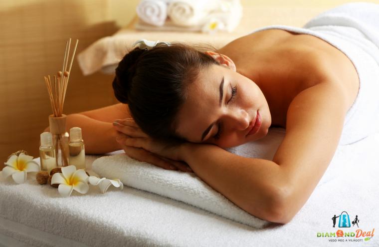 1 alkalom, 60 perces választható masszázs, teljes testre + 30 perc talpmasszázzsal - relax!