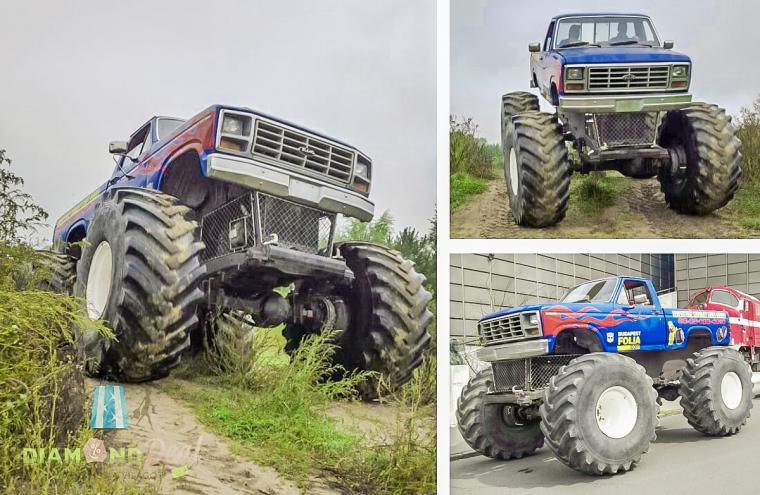3, 4 vagy 5 kör élményvezetés egy Monster Truck BigFoottal, az igazi adrenalin löket!