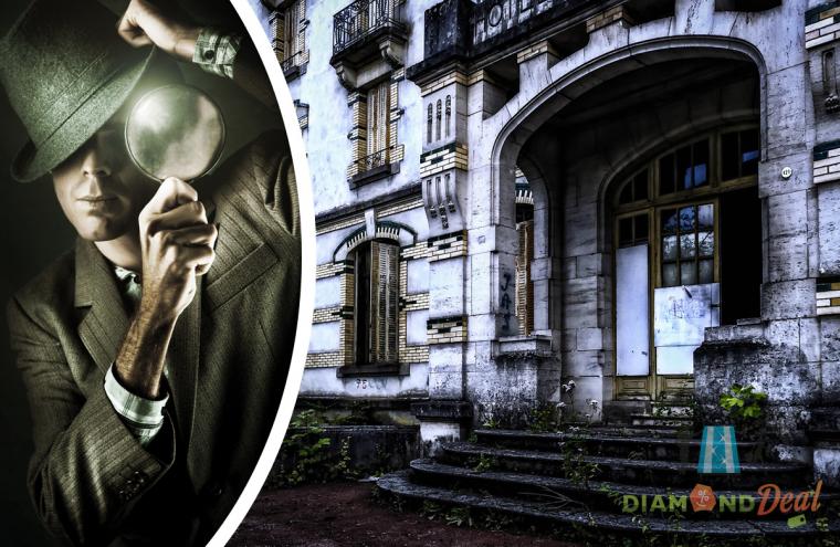 Izgalmas szabadtéri nyomozás a Rejélyek Városában, 2 órában 2-4 vagy 6 fő részére!