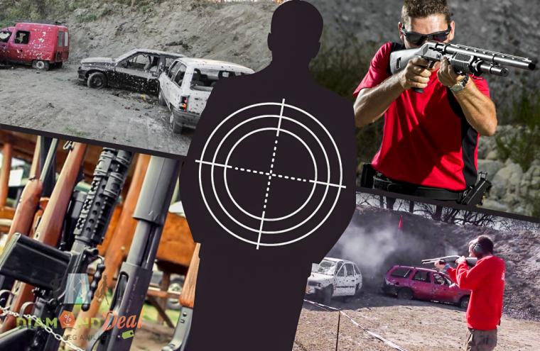 Shotgun! Roncslövészet dum-dum golyóval töltött shotgunnal, 25 lövés erejéig Ráckevén!