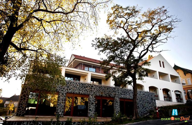 3 nap/ 2 éj szállás, félpanzióval a Hotel Bonvino Wine&Spa-ban, Badacsonytomajon, hétköznap, 2 főre.