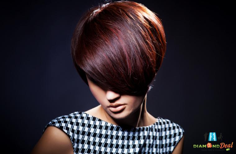 Női hajfestés, mosással, vágással, keratinos pakolással, a csillogó, egészséges hajkoronáért.