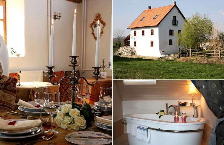 Romantikus kikapcsolódás a Balaton-felvidéken! 5 nap /4 éj reggelivel 2 fő részére a Villa Fiorében!