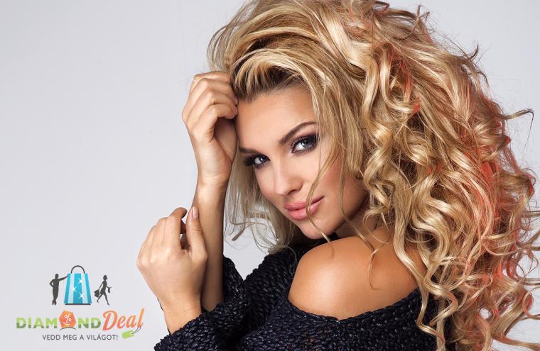 Új frizura vágása, pakolással, mosással, bármilyen hajhosszra a Hajvarázs Szépségszalon Fodrászatban