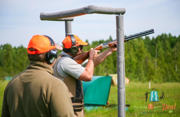 Agyaggalamb, avagy koronglövészet 55 lövéssel, lőállás díjjal, oktatással a Duna Lövész SE lőterén!