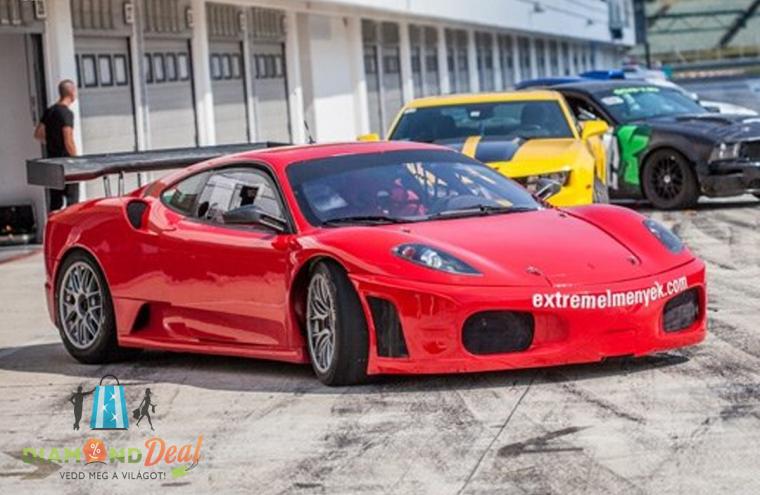 Vezess egy igazi Ferrari F430 GT3-at a Hungaroringen! Ilyen szuper sportautót még tuti nem vezettél!
