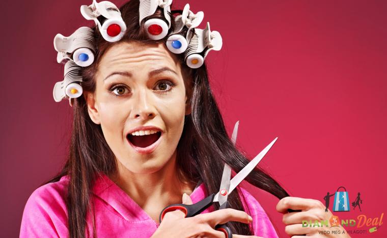 Bármilyen hosszúságú NŐI haj vágása, mosása, szárítása az V. kerületi Maquillage Szalonban!