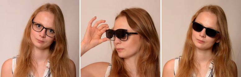 Clip-on keretes szemüveg napszemüveg előtéttel a Bártfalvi Optikában 88ad37492a