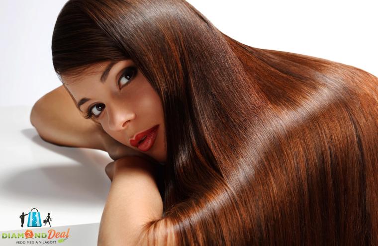 Melegollós hajvágás keratinos hajszerkezet újjáépítéssel 9a75a974b4