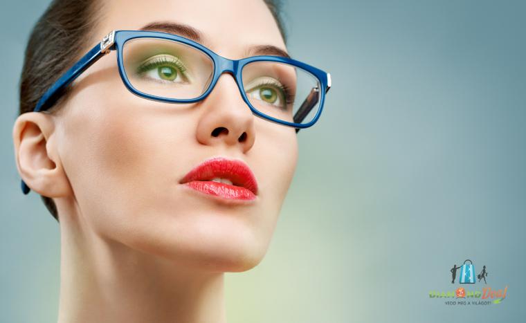 Bifokális szemüveg készítése normáli bifokális lencsével - DiamondDeal 84bfccfc6f