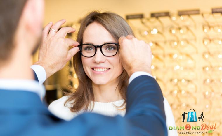Fényre sötétedő szemüveg készítése felületkezelt lencsével +AJÁNDÉK  tok és  törlőkendő 5d1ae7d590