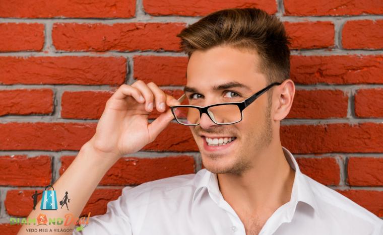 Komplett fényre sötétedő dioptriás szemüveg készítése látásvizsgálattal f8a5bb97f2
