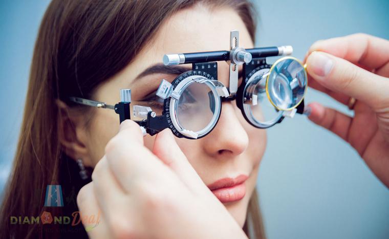 Vékonyított lencsés szemüveg - DiamondDeal 2fe439b2ac