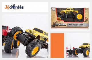 1e7ad243b060 Monster Truck távirányítós terepjáró - sárga színben