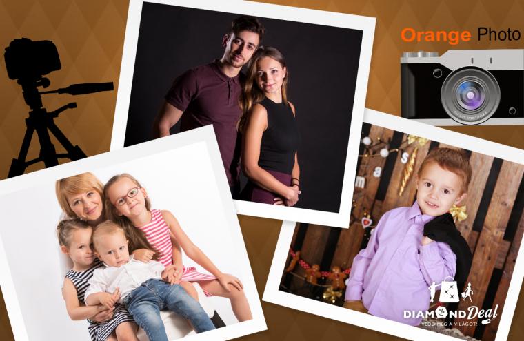 c91c963c9261 Egyéni, páros, gyermek vagy családi profi fotózás a prémium felszereltségű  Orange Photo műteremben