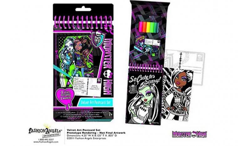 c96debbc78d2 Monster High bársony képeslap tervező - DiamondDeal